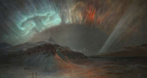 """""""Firelight Flickering on the Ceiling of the World"""": The Aurora Borealis in Art"""