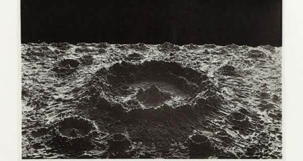 Photographs of (models of) the moon (1874)