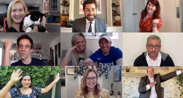 The Office Cast Reunites for Zoom Wedding